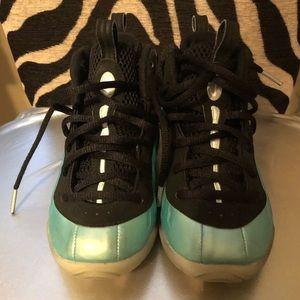 a8409084cb4 Nike Shoes - Island metallic green phone posits sneakers